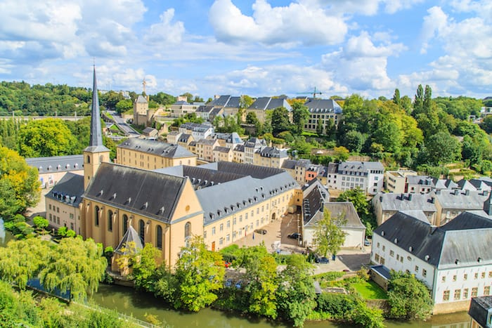Luxembourg is the second richest country in the world