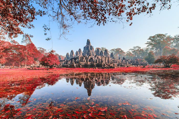 Bayon Castle Angkor Thom
