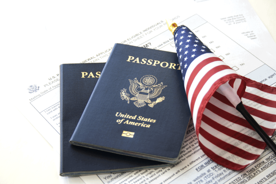 ROI on a US passport