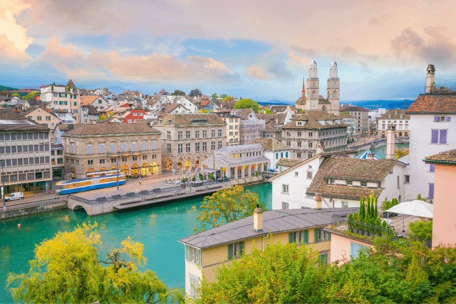 Zurich Switzerland Gold Storage