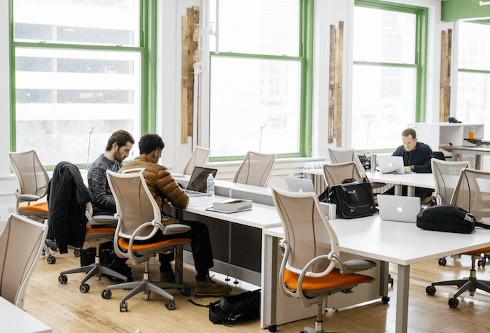 co-working spaces in the United States