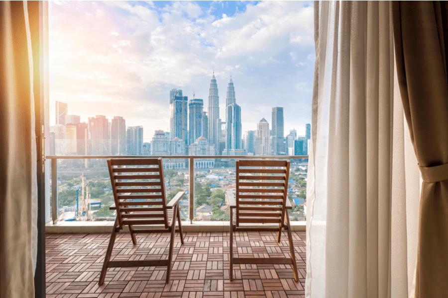 Kuala Lumpur View from Penthouse