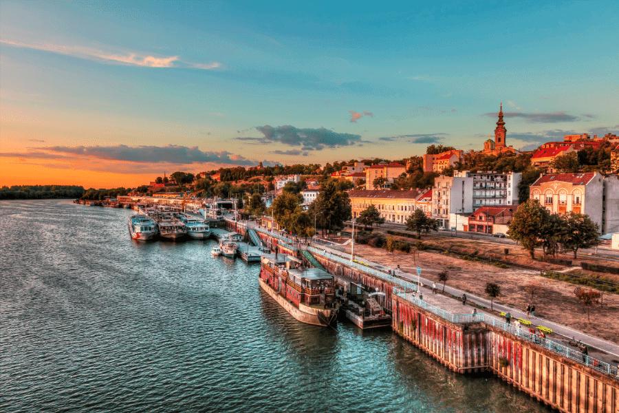 Port of Belgrade Serbia