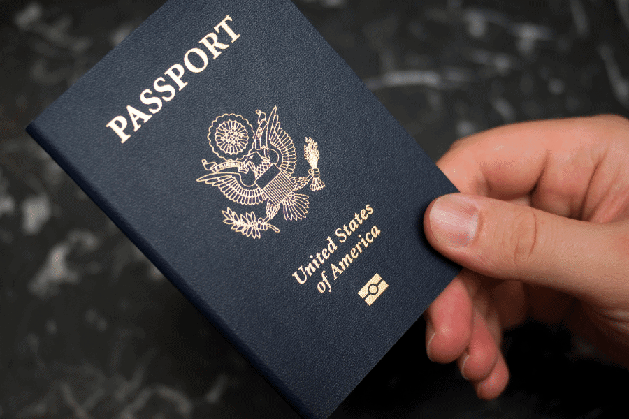 Turning in a US passport after renouncing