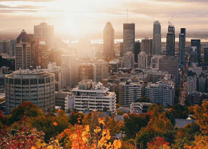 Canadian citizenship and permanent residence - skyline