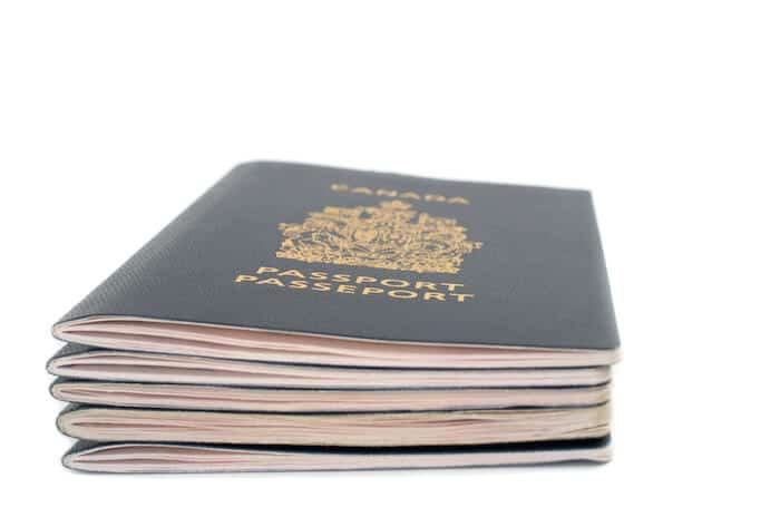 Canadian passport and citizenship