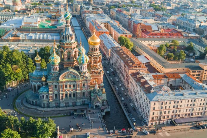 Visit St. Petersburg, Russia with APEC Travel Card