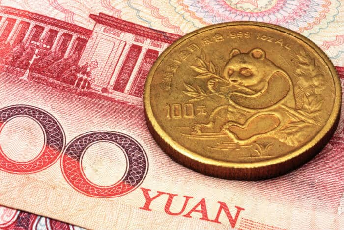 New Gold Backed Currency in Chinese Yuan