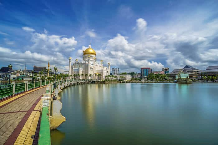Brunei countries with no income tax