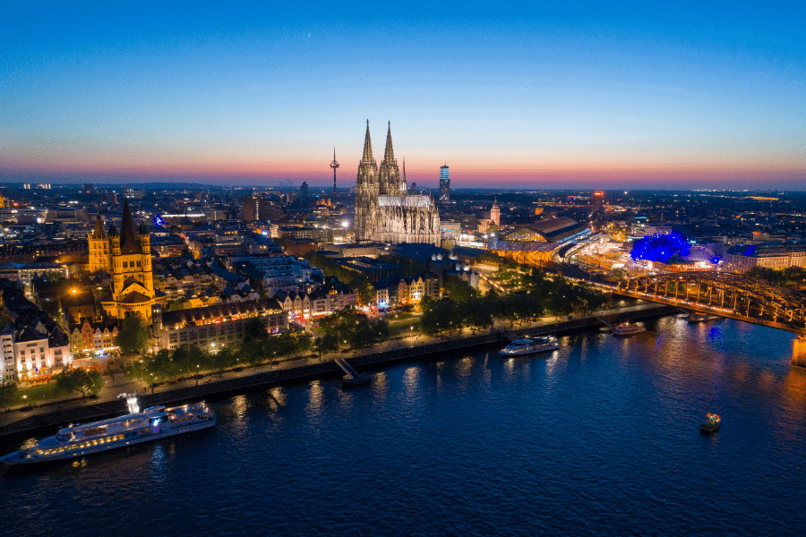 Cologne Germany Bona Fide Residence