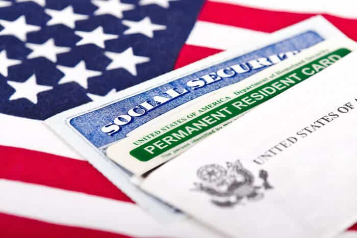 US citizenship US permanent resident green card