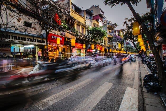 Hanoi Vietnam best cities for digital nomads in asia