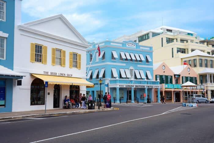 Should I open an offshore bank account in Bermuda