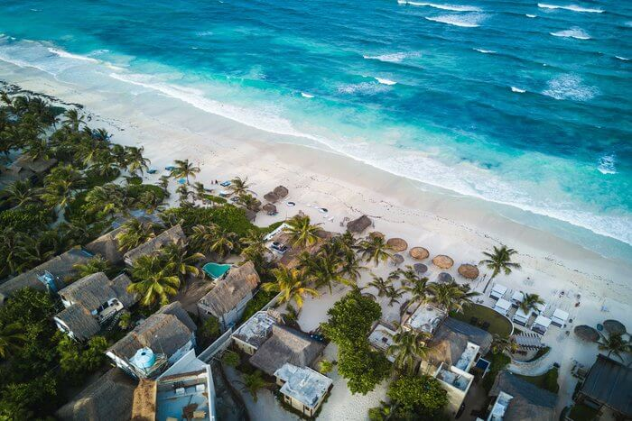 Tulum Mexico best cities in North America for digital nomads