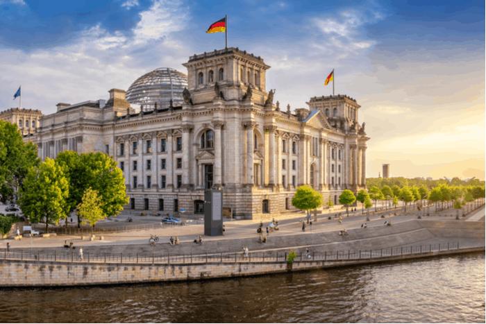 German government building in Berlin
