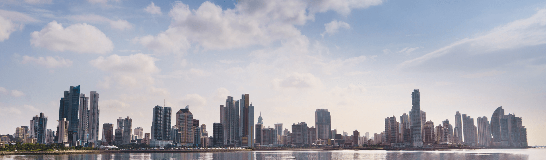 Header Image Panama City Skyline