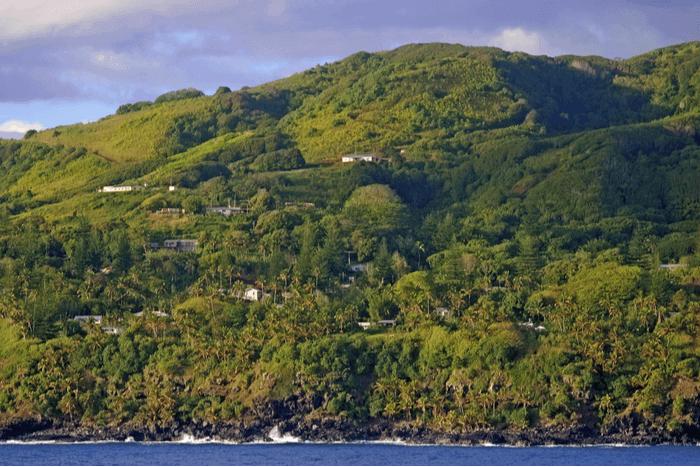 Adamstown Pitcairn Island