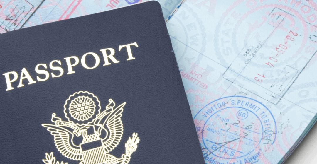 Passports: one of the big differences between the US and the rest of the world
