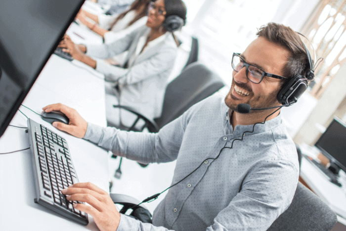 Call center staffing company