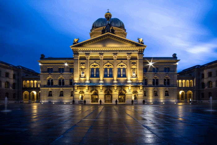 How do Swiss banks compare - The Parliament Building