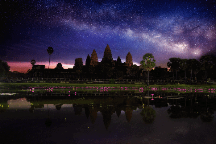 What is an economic collapse - Cambodia Angkor Wat