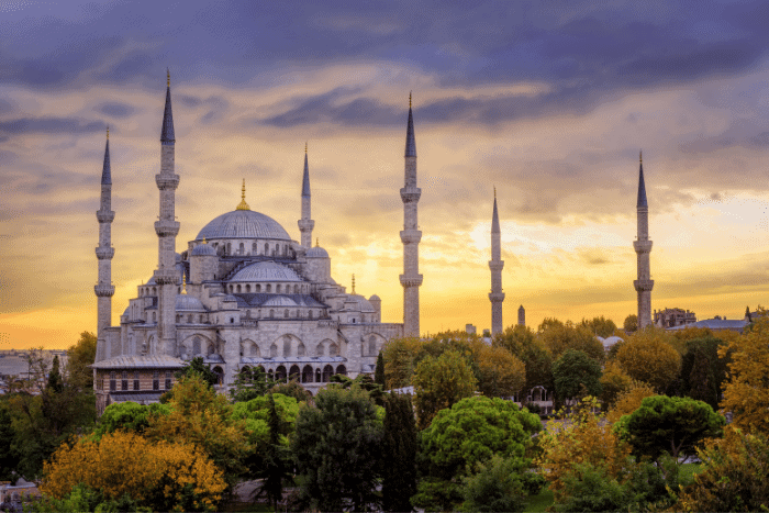 Blue Mosque Istanbul Turkey Hiring Employees