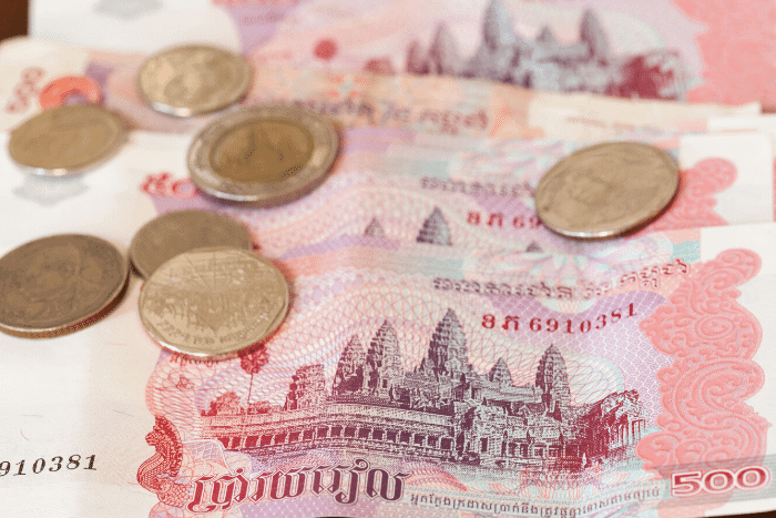 Cambodian Riel Emerging World Currency