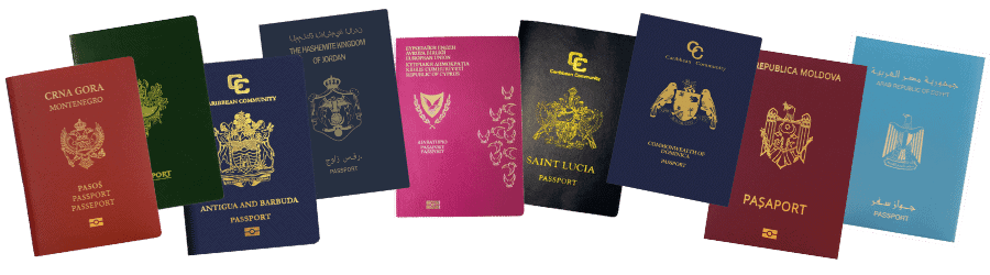 Economic Citizenship Passport Transparent (1)