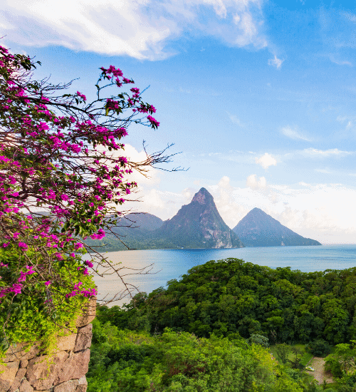 Saint Lucia Citizenship by Investment Piton Mountains