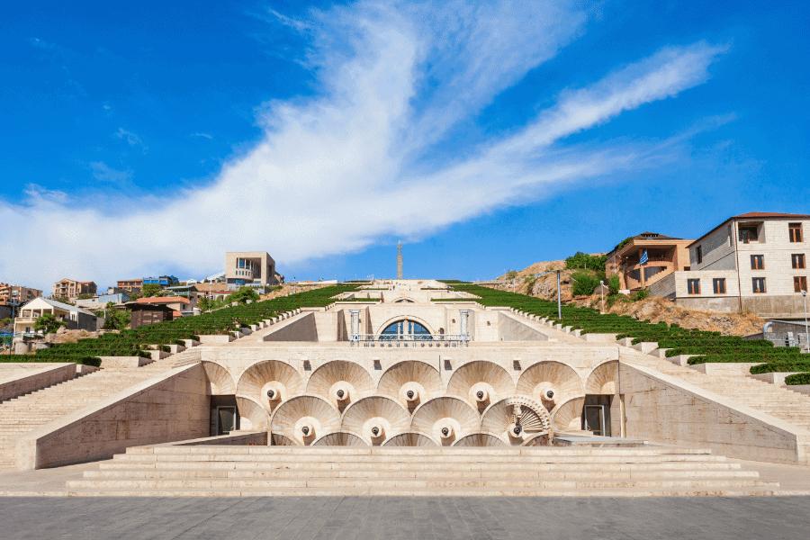 The Cascade Yerevan Armenia Residence Permit