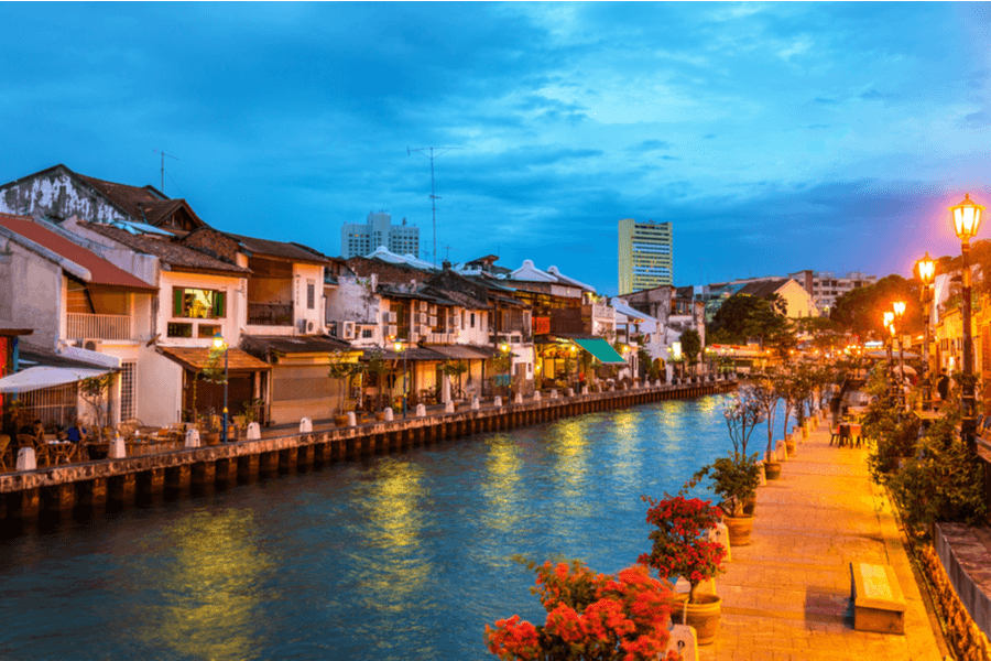 Malacca River Malaysia Residence vs Citizenship in Asia