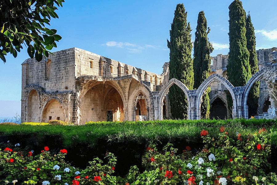 Bellapais Monestary Northern Cyprus