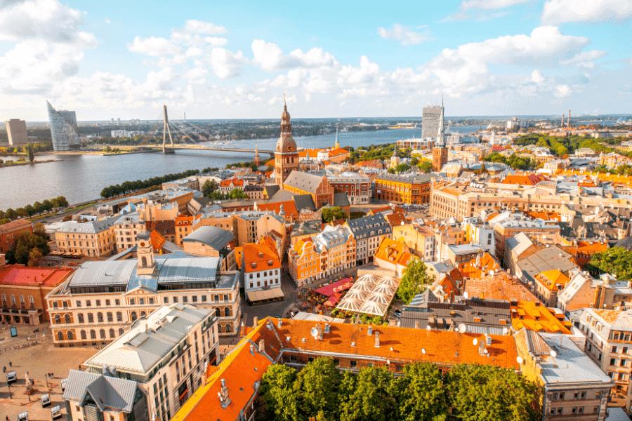 Riga Cityscape Latvia Golden Visa