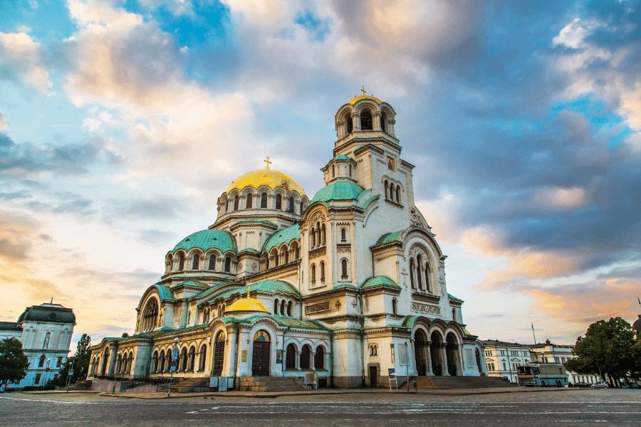 St. Alexander Nevski Cathedral Sofia Bulgaria
