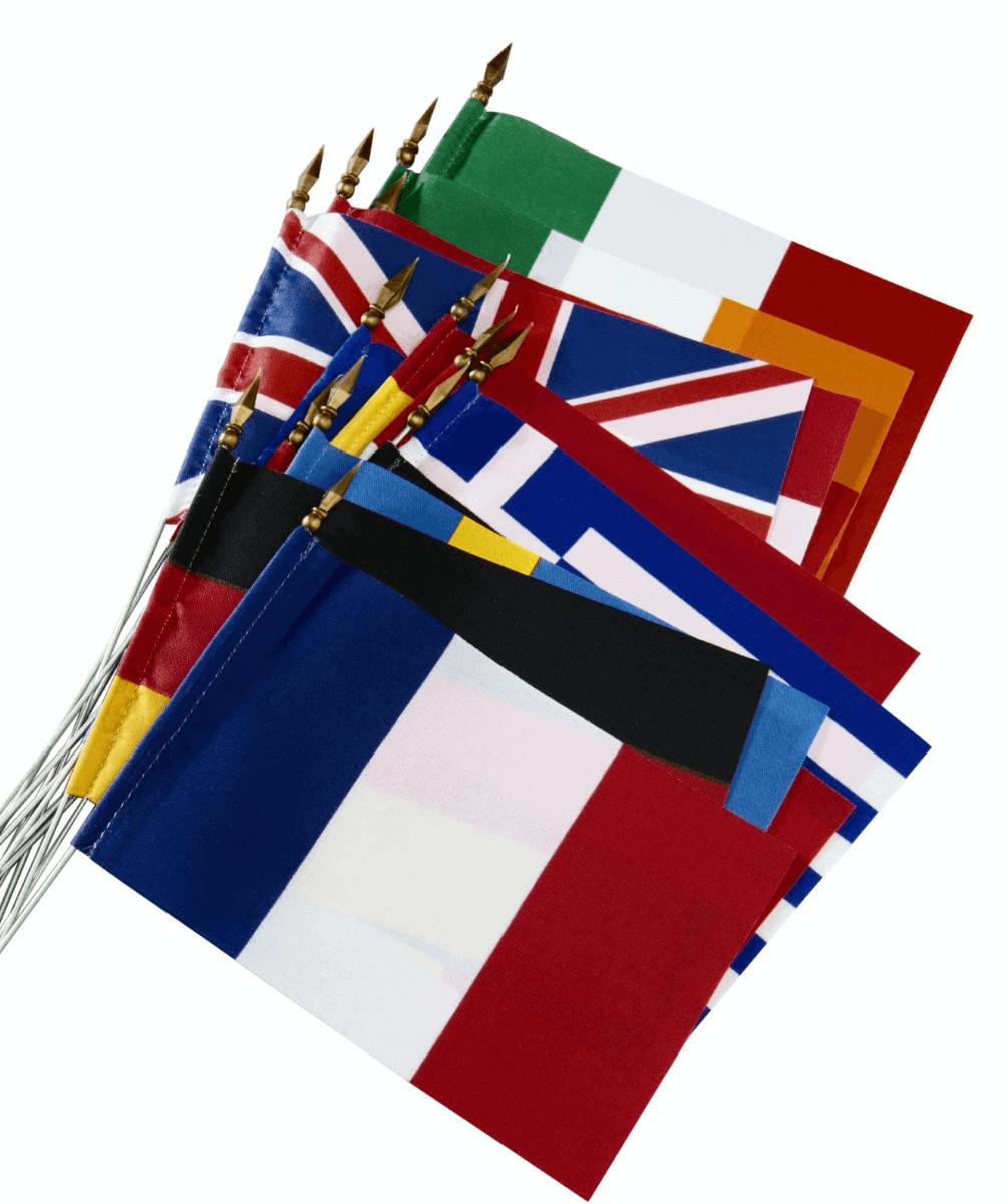 Golden Visa EU Flags