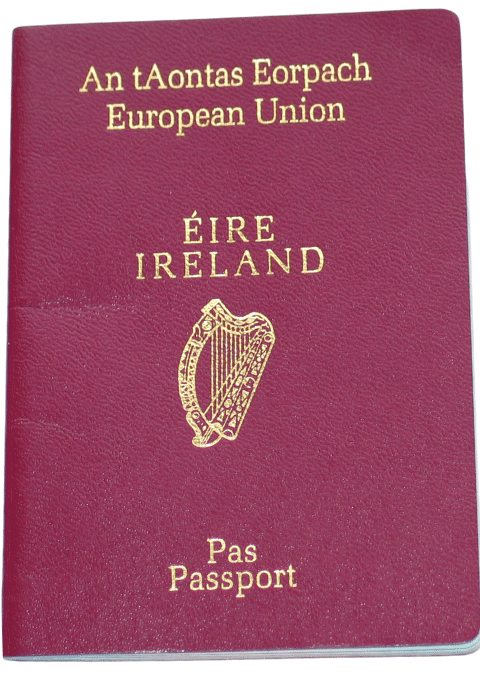 Irish Passport by Descent