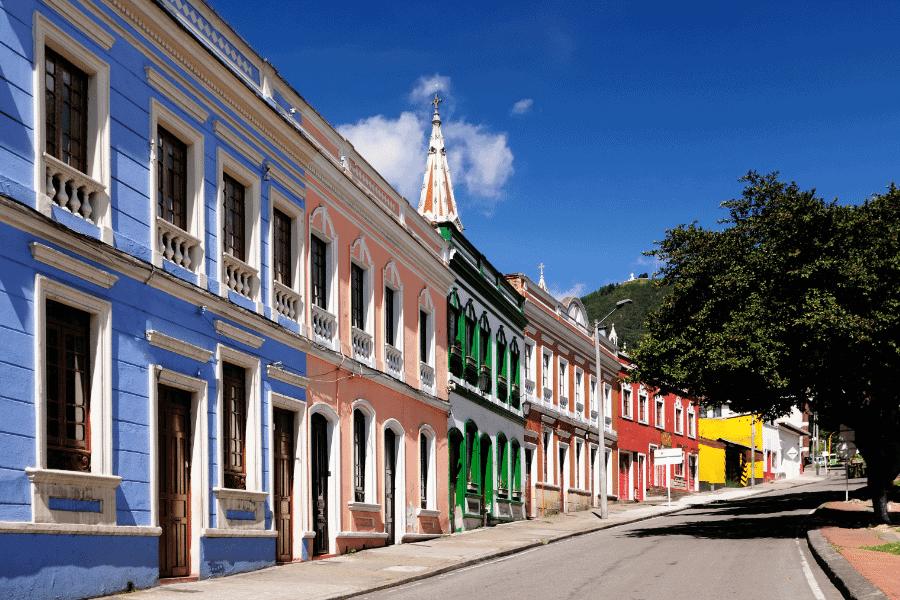 Beautiful architecture in Bogota
