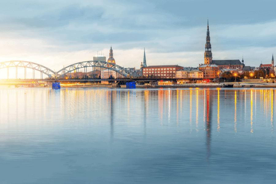 Living in Riga, Latvia