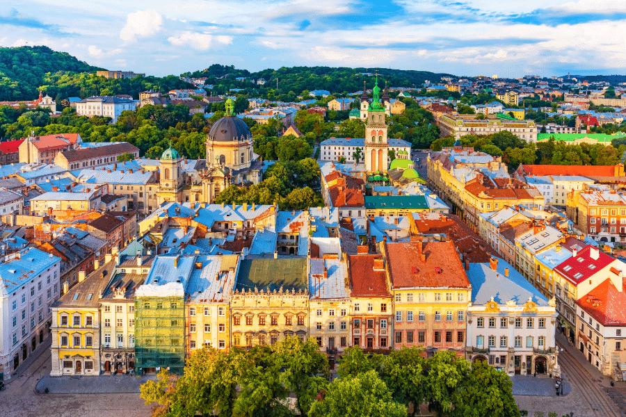 Lviv Ukraine citizenship by descent