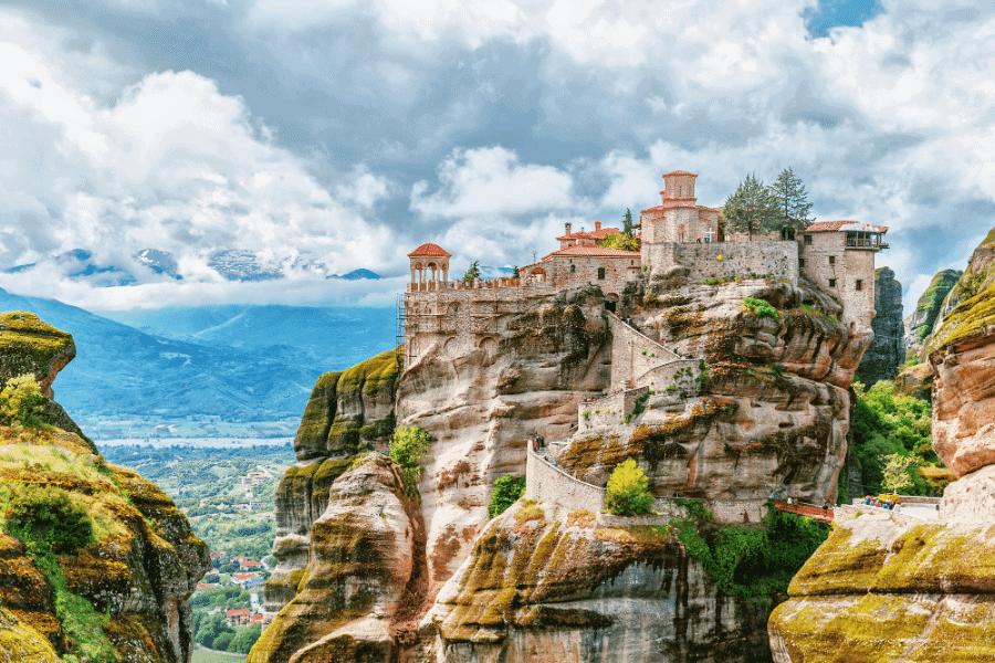 Meteora Monastery Greek Citizenship by Descent