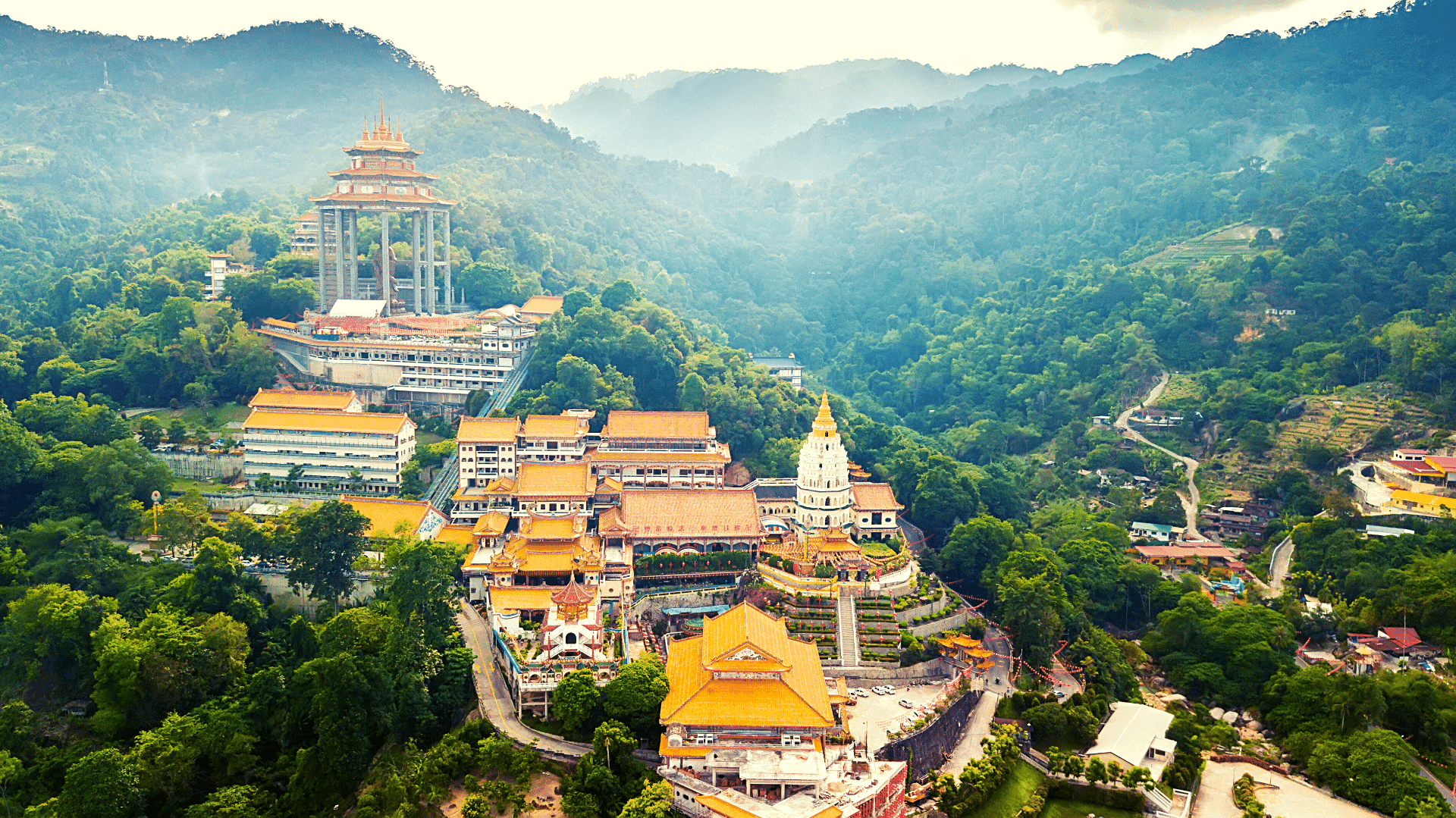 Penang Temple live in Malaysia