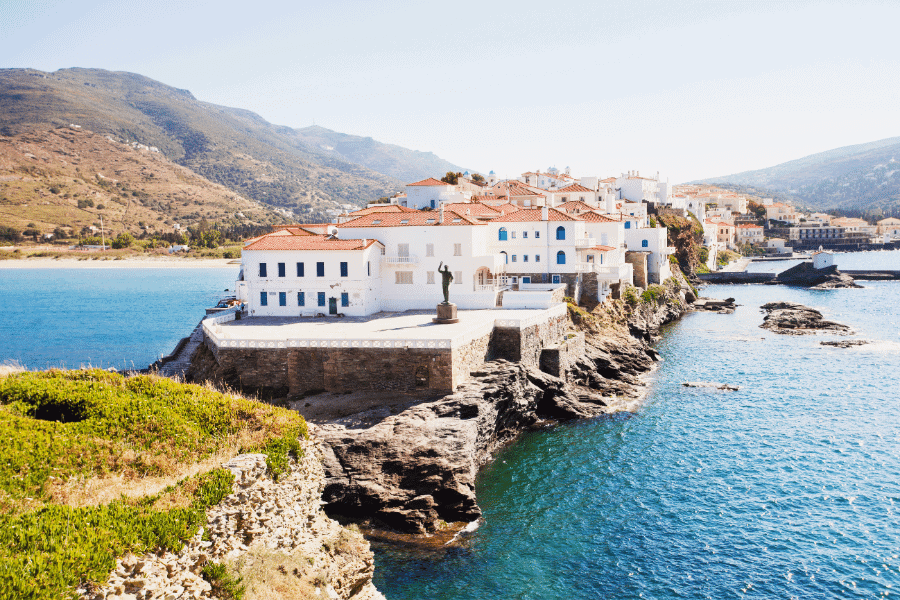 Andros island, Cyclades, Greece