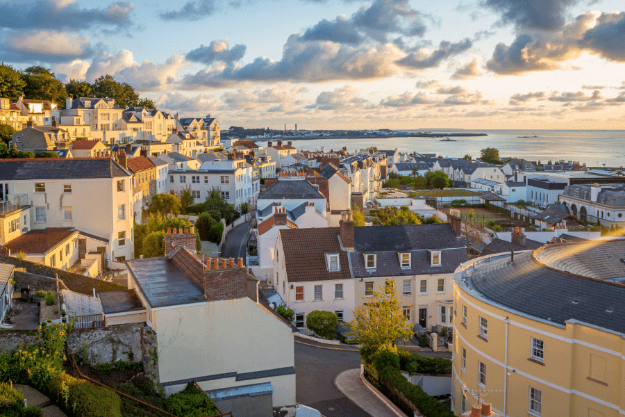 Guernsey Permanent Residence by Real Estate Investment