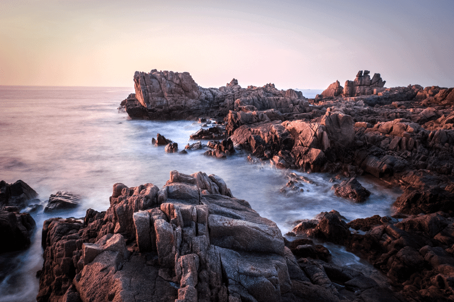 Sunset at Grande Rocques, Guernsey, Channel Islands