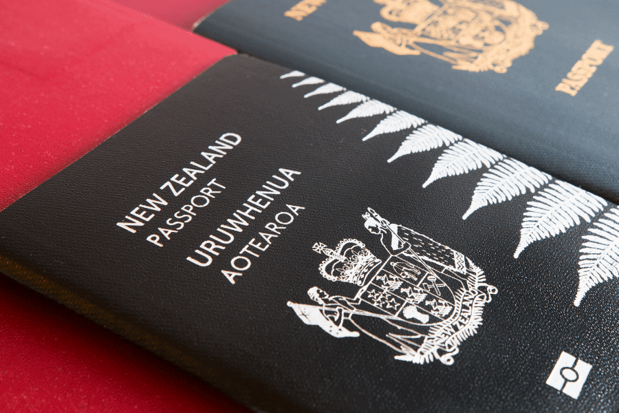 The Best Passport in the World Tier A New Zealand