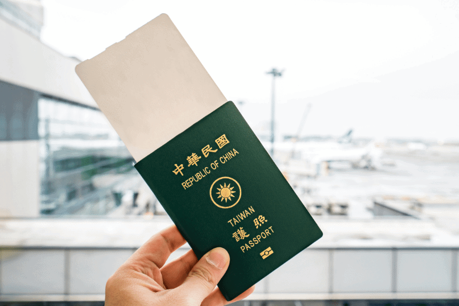 Taiwanese Citizenship and Passport Living in Taiwan