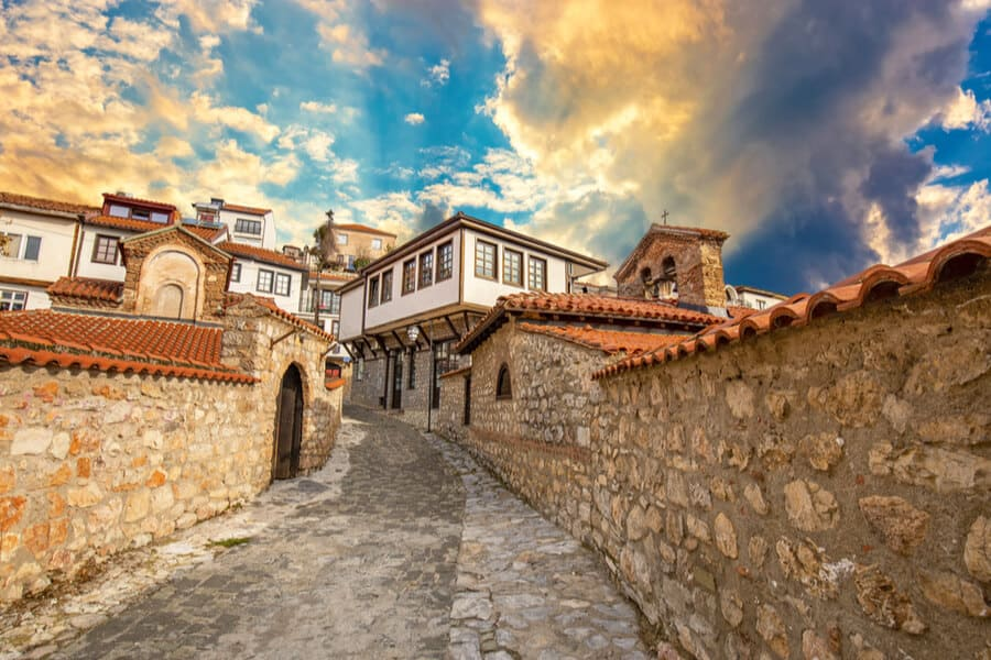 Old Town of Ohrid North Macedonia