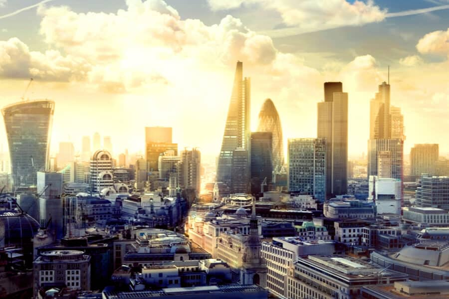 The UK London Business District