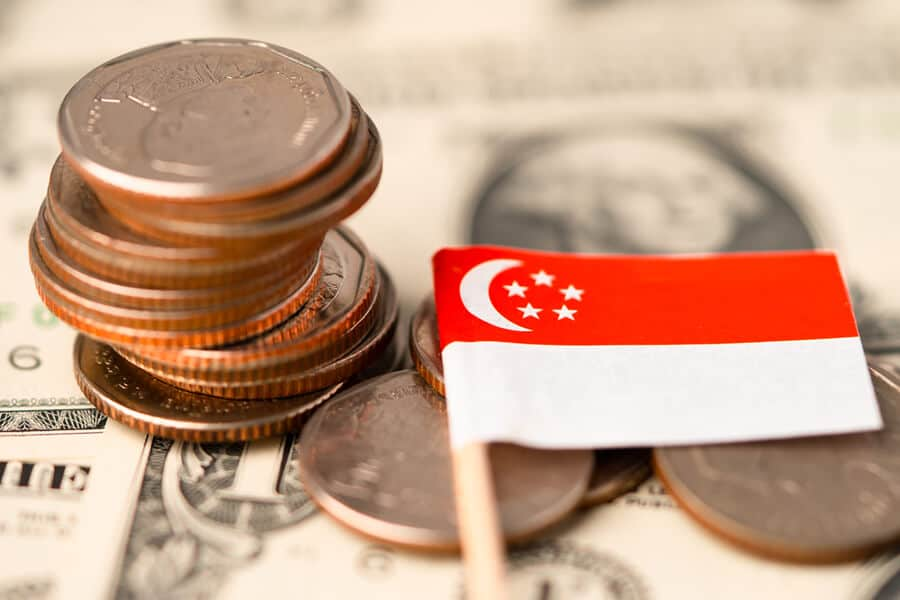 Trading Out US Dollars for Singapore Government Debt