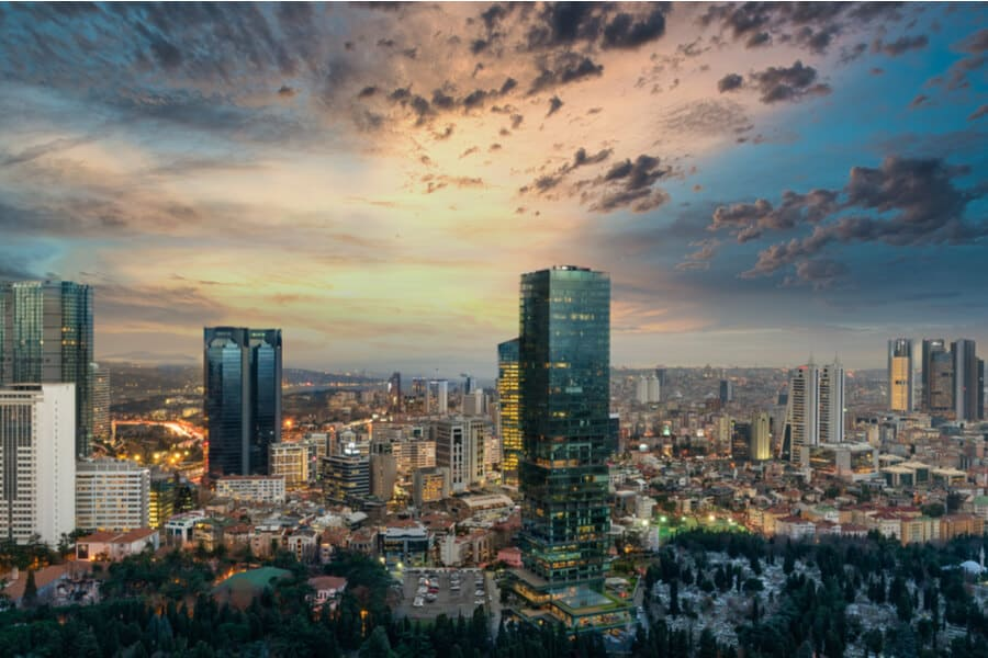 Turkey Citizenship by Investment Istanbul Skyline